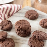 Decadent Vegan Double Chocolate Chip Cookies