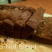 Chocolate Banana-Nut Bread Recipe | ExSloth
