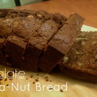 Chocolate Banana-Nut Bread Recipe