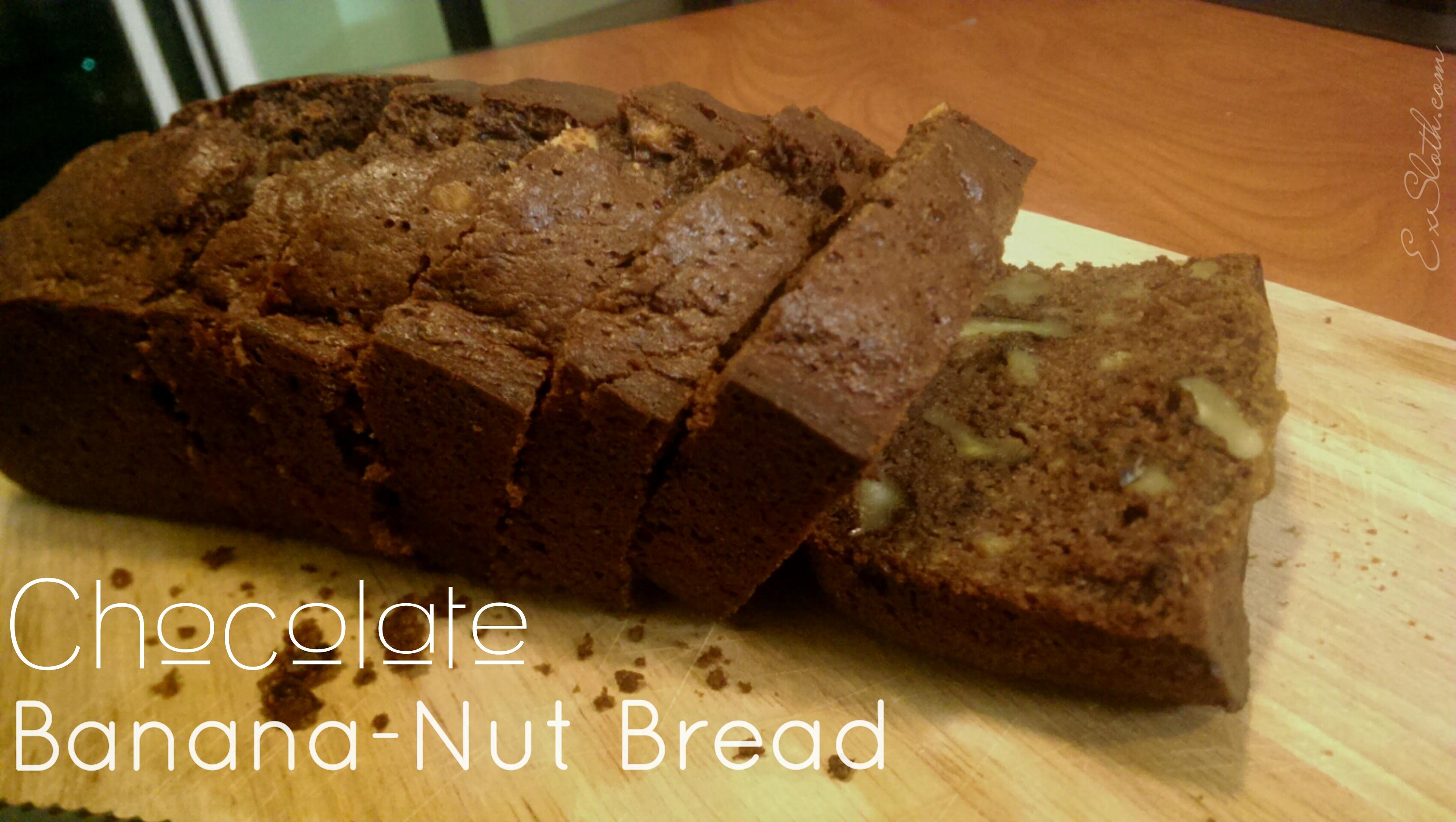 Chocolate Banana-Nut Bread Recipe | ExSloth