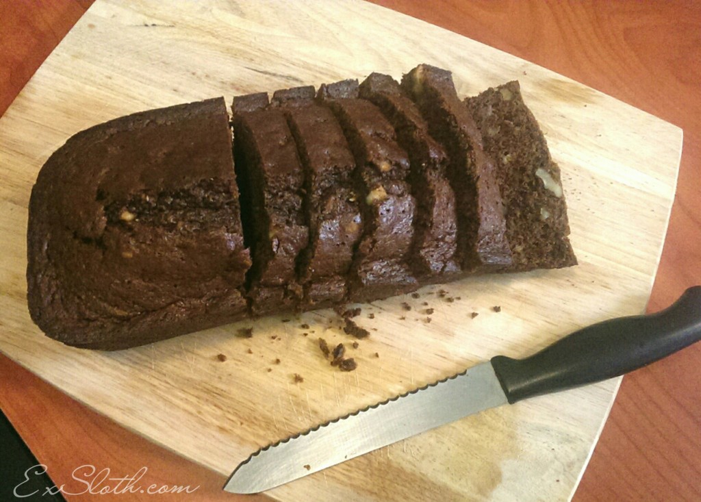 Chocolate Banana-Nut Bread | ExSloth