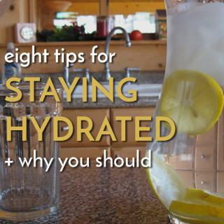 Stay hydrated with these 8 tips