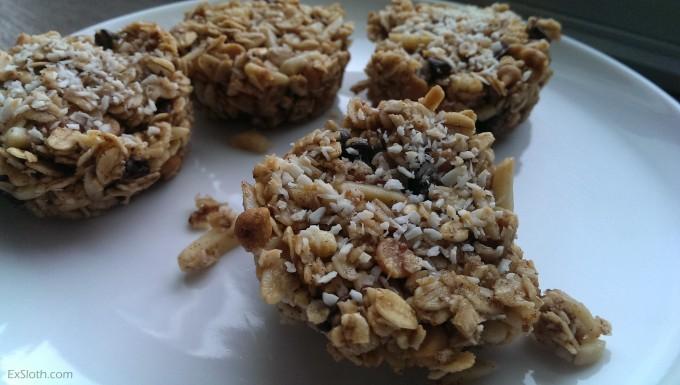 Coconut Granola Bites | ExSloth.com