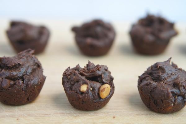 Flourless, Vegan Two Bite Brownies Recipe   @ExSloth