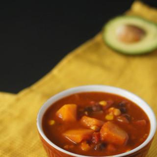 Mexican Butternut Squash Tomato Soup