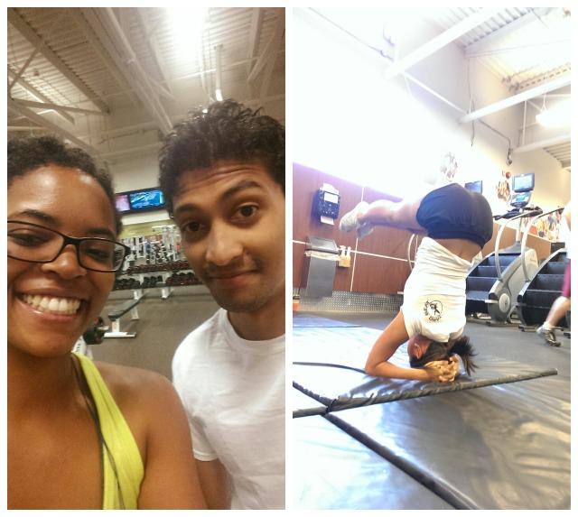 Morning Gym Collage 3