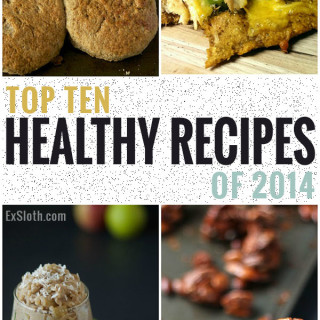 ExSloth turns 2 + Top Recipes & Wellness Advice of 2014