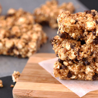 Sweet and Salty Popcorn Bars