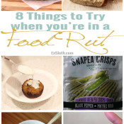 Getting out of a food rut can be hard so here are 8 healthy food ideas to spice up your meals this month @ExSloth