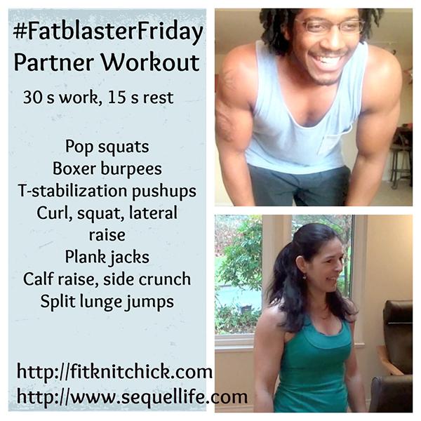 fit knit chick virtual partner workout
