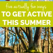 5 actually fun ways to get active this summer via @ExSloth | ExSloth.com