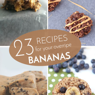 23 Recipes for your extra Bananas