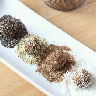 Nut Free Coconut Date Energy Balls