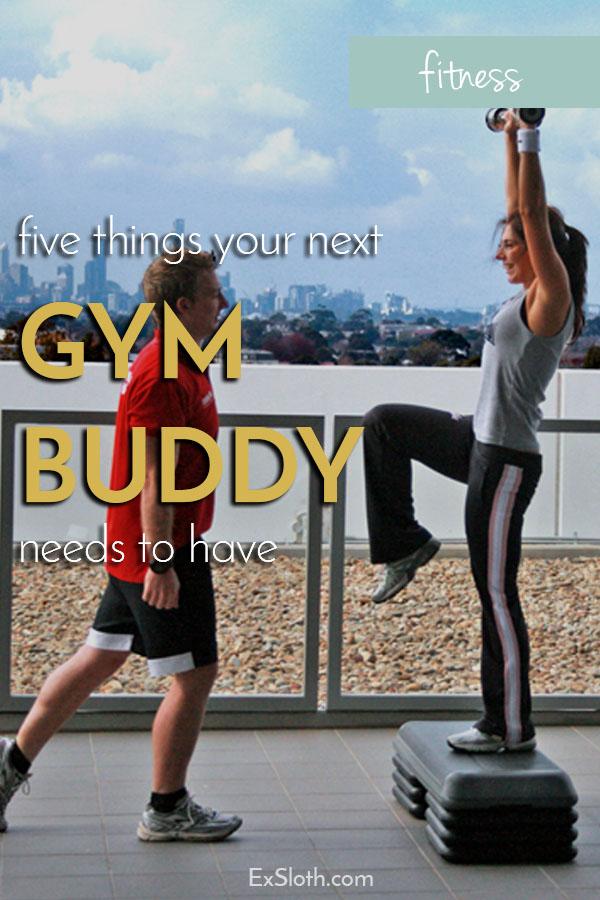 5 tips for choosing a workout buddy via @ExSloth | ExSloth.com