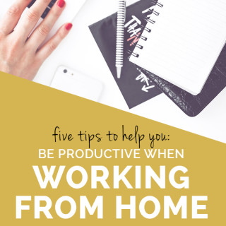5 tips to help you study or work from home effectively