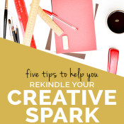 5 tips to help you rediscover your creativity via @ExSloth | ExSloth.com