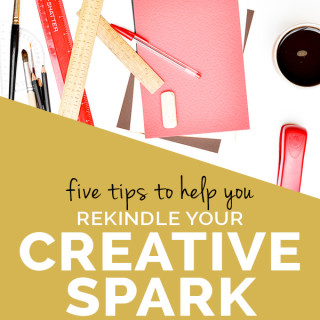 How to rediscover your creative spark