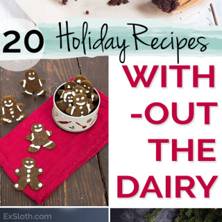 20 Healthy and Decadent Dairy Free Holiday Recipes