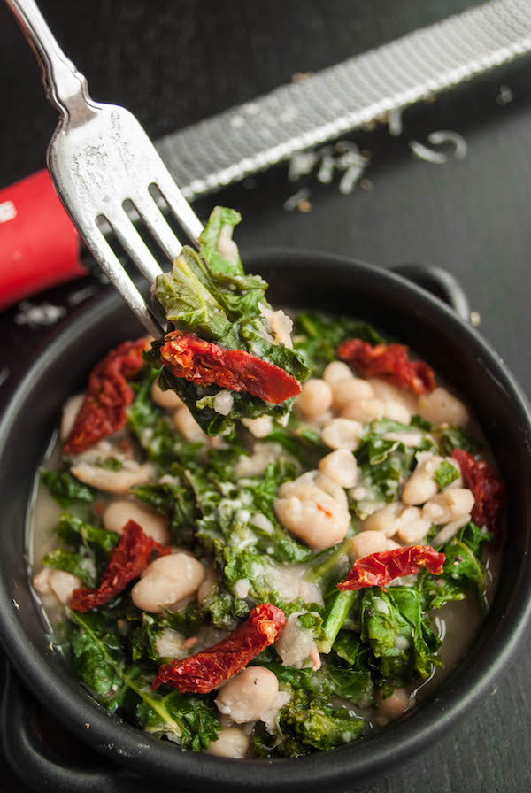Easy beans and greens
