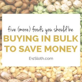 Buying food in Bulk (Part 3)
