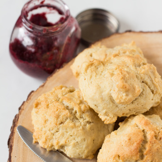 Easy Vegan Drop Biscuits