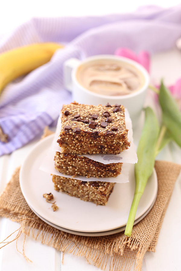 Banana Quinoa Breakfast Bars