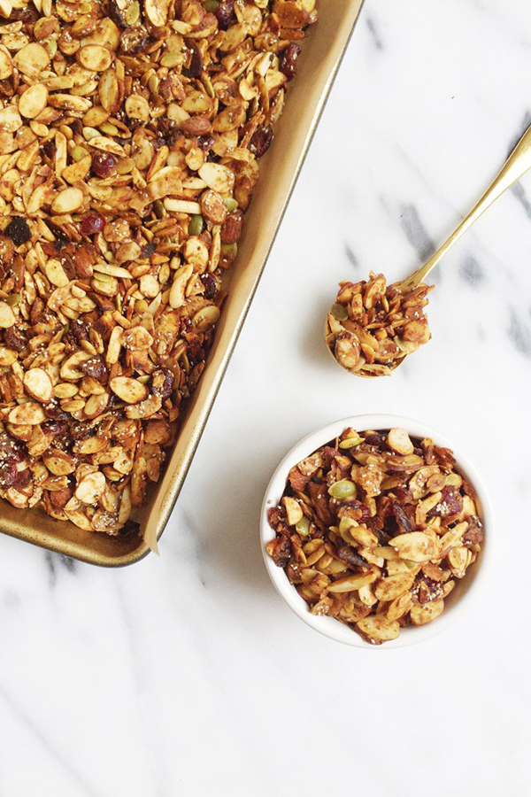 Grain-Free Almond Butter & Jelly Granola