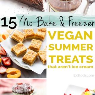 15 No-Bake & Frozen Desserts for summer that AREN'T Ice Cream