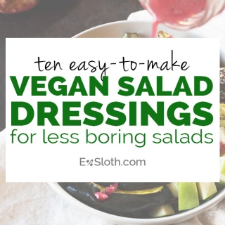 10 vegan salad dressings for tastier, more exciting salads