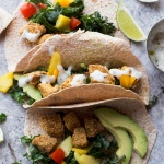 Crispy Jerk Sweet Potato Tacos